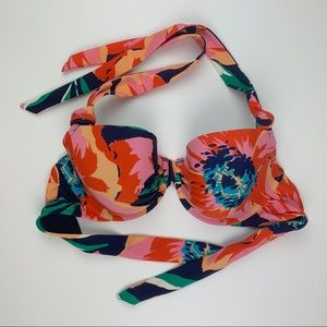 aerie | Blakely 36 DD Floral Bikini Top